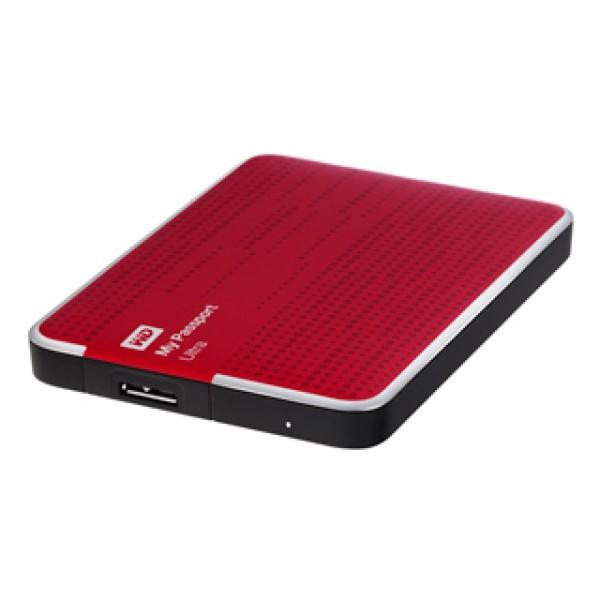 """USB 3.0 HDD 2,5"""" WD Passport Ultra 500 GB Red Kiegészítők"""
