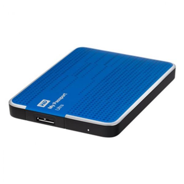 """USB 3.0 HDD 2,5"""" WD Passport Ultra 500 GB Blue Kiegészítők"""