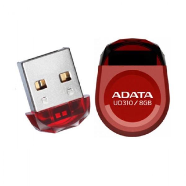 Adata Pendrive 8 GB USB 2.0 Red (AUD310-8G-RRD) Kiegészítők