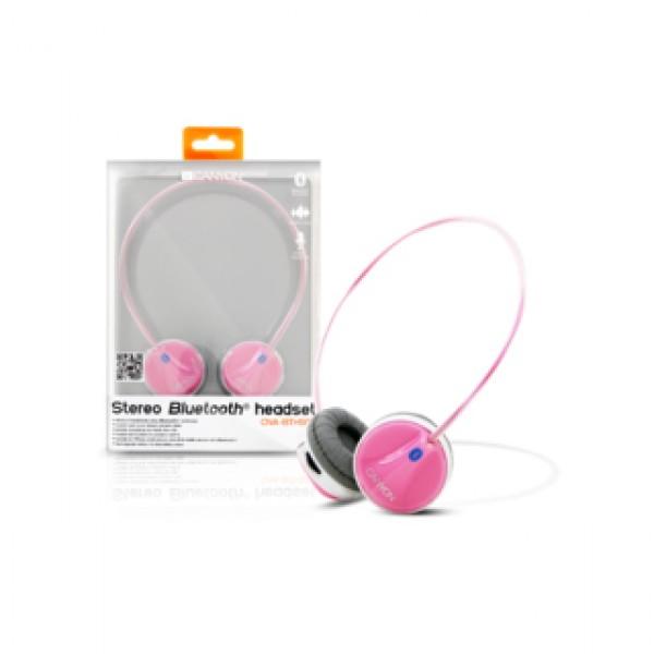 Headphones CANYON Stereo Bluetooth Pink (CNA-BTHS02P) Kiegészítők
