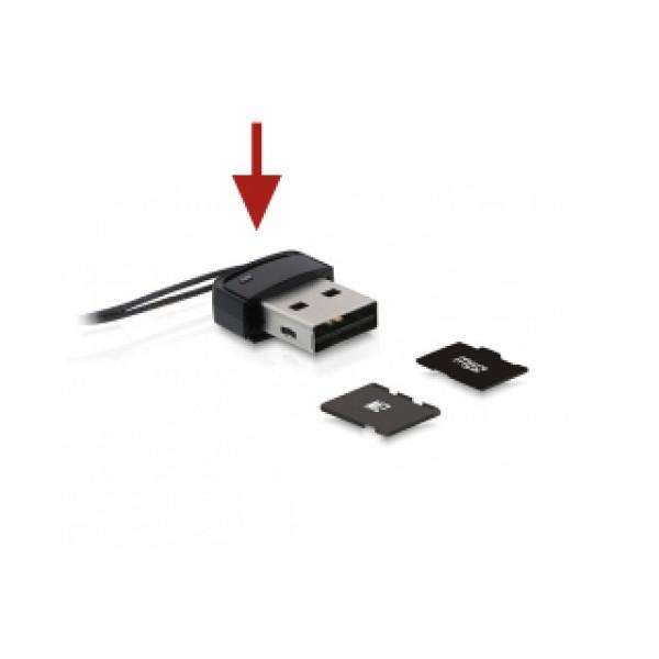 Delock USB 2.0 Card Reader Micro/SD/SDHC (91678) Kiegészítők