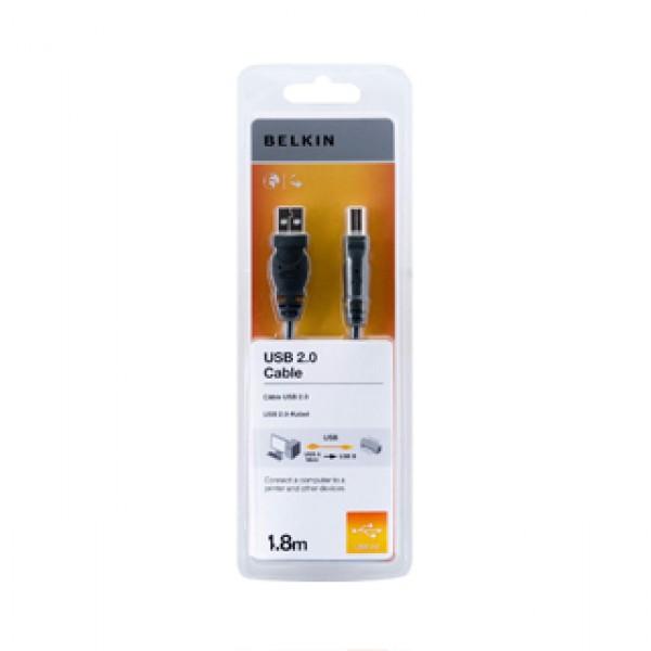 Belkin USB Cable A-B Male 1,8M (F3U154CP1.8M) Kiegészítők