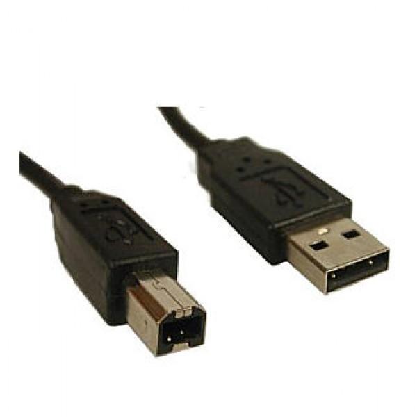ValueLine kábel USB A-B 2m Black Kiegészítők