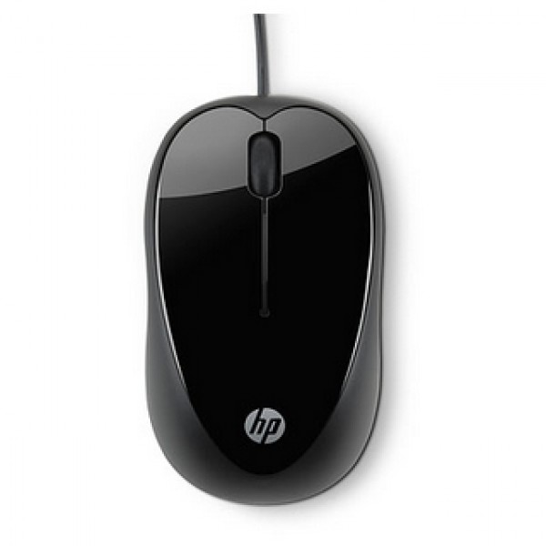 HP egér usb X1000 fekete H2C21AA Kiegészítők
