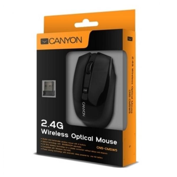 Egér CANYON Wireless Optical Black (CNS-CMSW5B) Kiegészítők