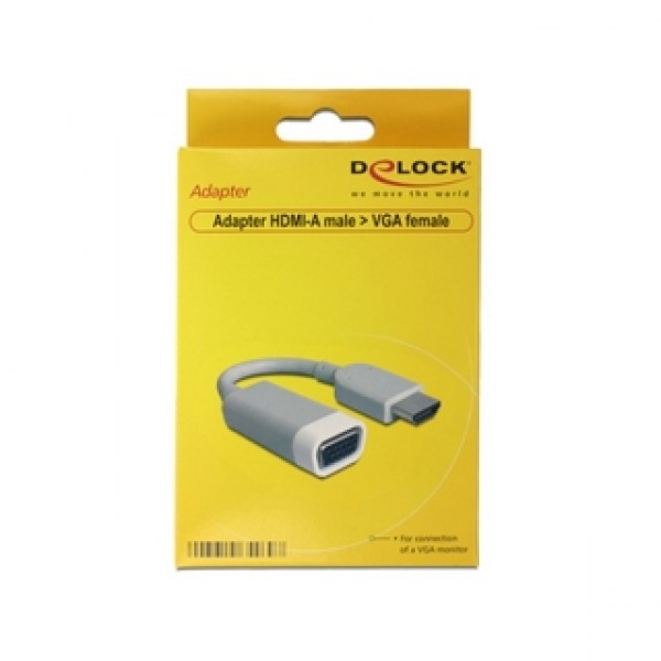 Delock HDMI-A VGA adapter (65469) Kiegészítők