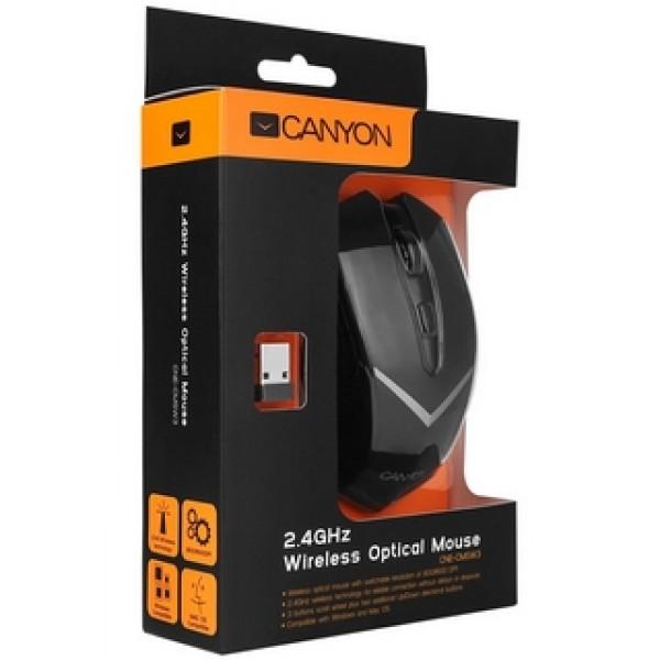 Egér CANYON Wireless Optical Black (CNE-CMSW3) Kiegészítők