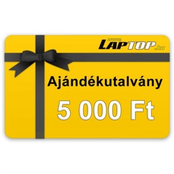 Ajándékutalvány 5.000 Ft értékben ***