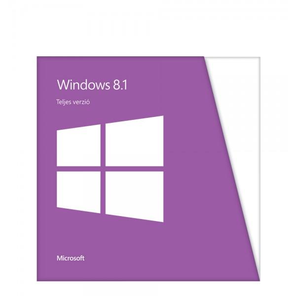 Szoftver Windows 8.1 32Bit OEM HUN Kiegészítők