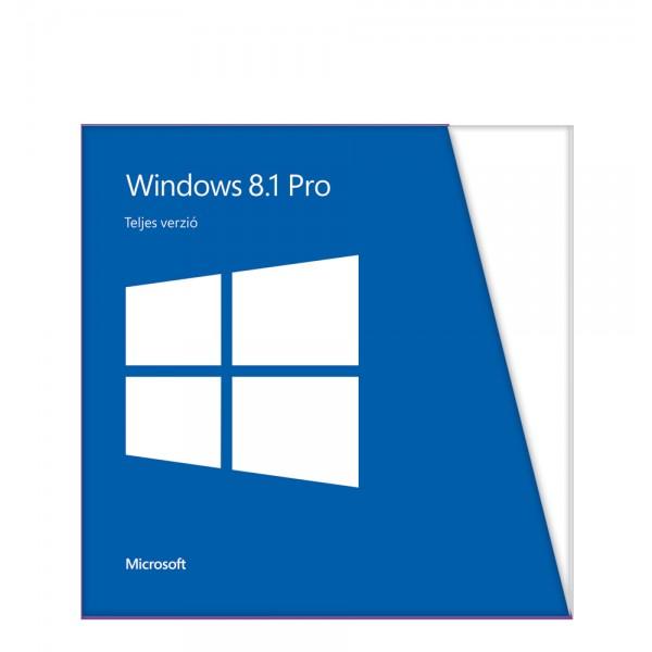 Szoftver Windows 8.1 Pro 32Bit OEM HUN Kiegészítők