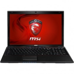 MSI GP60 2PF Leopard-662XHU Black FD 8GB