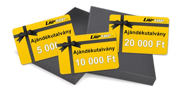 Laptop.hu ajándékutálvany