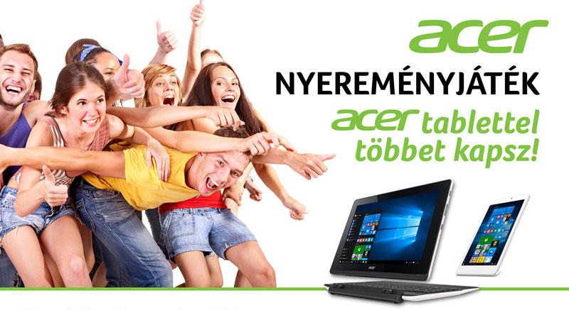 Acer Nyereményjáték