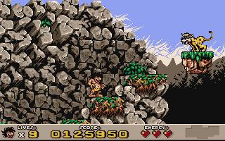 Igazi mászkálós játék, DOS alatt