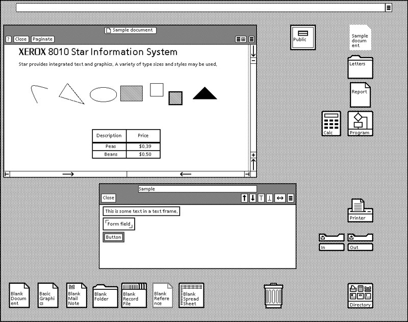 8010 Star Information System számítógé