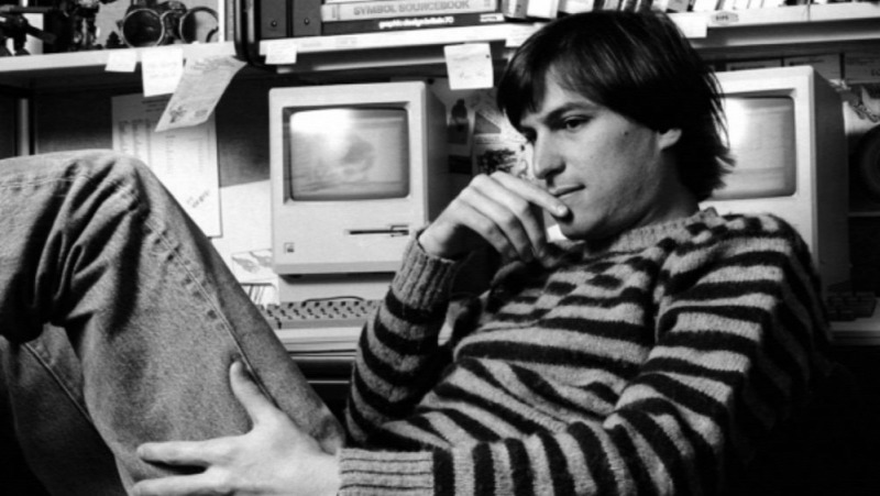 A fiatal Steve Jobs